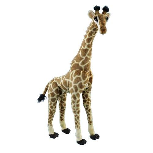 XXL Riesen Plüsch Stofftier Giraffe 85 cm Deko