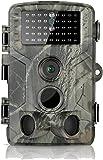 DIGITNOW! Caméra de Chasse 16MP 1080P IP65 Étanche, Caméra Surveillance avec 42Pcs LED Vision Nocturne Infrarouge Jusqu'à 80FT et Grand Angle 120°