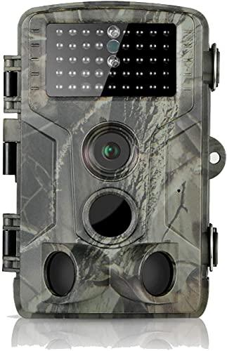 DIGITNOW 16MP Cámaras de Caza 1080P HD Impermeable,Gran Angular de 120° y...