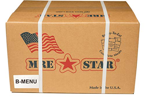 Fresh Packaged MRE Meals Ready to Eat Meal kits. Military Style Meals. Includes Delicious Entrees, Accessory Pack, Side Dishes, Beverage Mix (Choose your meals) (Case B, 1 Case of 12 Meals))