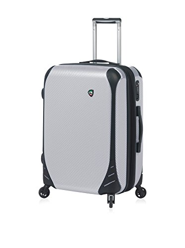 Mia Toro Fibre Di Carbonio Largo Spinner L Hand Luggage 76 Centimeters 102 White
