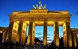 YHKTYV Puerta De Brandenburgo, Berlín Rompecabezas De Madera DIY Desafío Cerebral De 98 Piezas para Niños Juegos De Interior Decoración De Pared Estimular La Creatividad Regalo De Arte