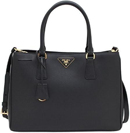 Prada Women s Saffiano Lux Black Handbag 1BA874 product image