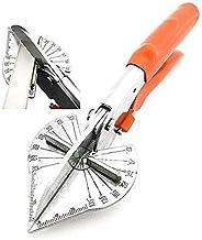 قاطع مقص ميتري متعدد الزوايا، مقص زاوية قابل للتعديل 45-135 درجة، أدوات يدوية لقص الخشب الناعم، البلاستيك، PVC وغيرها