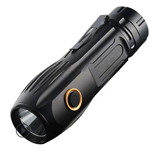 Antorchas LED Super Brillante 2000 lúmenes, Linterna Impermeable antorcha de Gran Alcance de Gran tamaño, Enfoque Ajustable LED antorcha con Zoom,