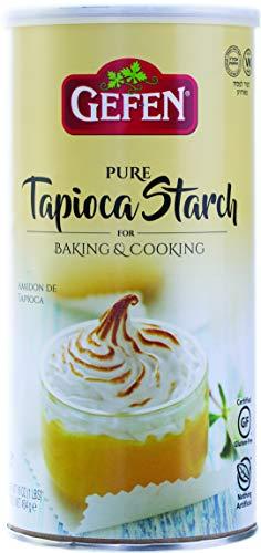 Gefen, Tapioca Starch, 16oz. 'Resealable Container' Gluten Free, Tapioca Flour