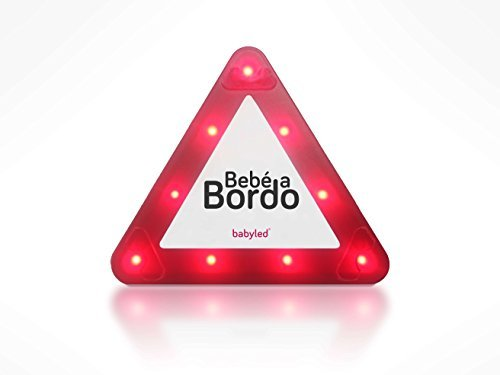 BabyLed - Señal LED de Bebé a Bordo como complemento de la silla de coche