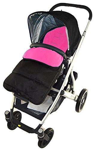 Fu/ßsack//COSY TOES kompatibel mit Mountain buugy Cosmopolitan Kinderwagen pink rose