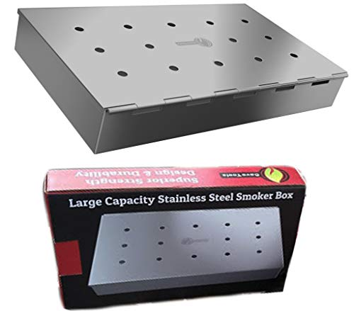 Smoker Box Maximum Wood Chip Capacity - 25%...