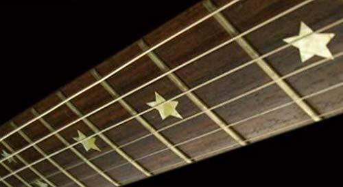 clasificación y comparación Pegatina de estrella pegatina de traste para guitarra y bajo pegatina de tablero de traste para guitarra (plateado) para casa