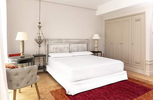 BSensible Cosmetic, Protector de colchón Acolchado de Tencel, Impermeable y Transpirable, 135 x 190