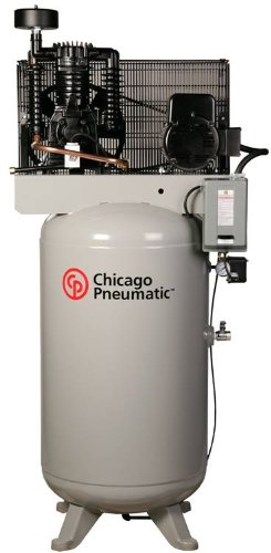 Chicago Pneumatic RCP-581V 5 HP 80 Gallon Two Stage Reciprocating Air Compressor