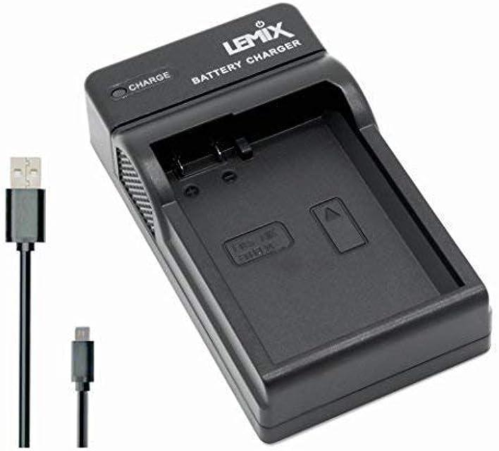 Lemix (ENEL14) Cargador USB Ultra Slim para baterías Nikon EN-EL14 / EN-EL14a y para Modelos (enumerados a continuación) Nikon SLR & Coolpix