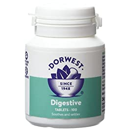 Dorwest Herbs Digestive Supplement Tablets for Dogs and Cats