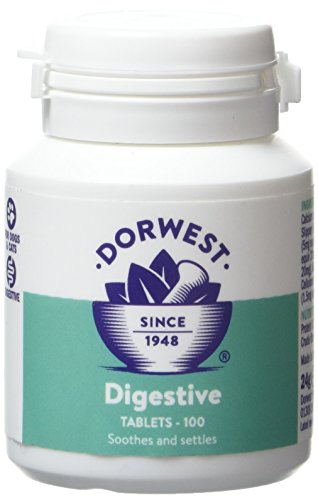 DORWEST HERBS Digestive Supplement Tablets for Dogs and Cats 100 Tablets
