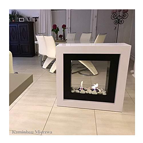 Brenngelkamin Gelkamin Kaminofen Kamin Royal Kaminfeuer für schöne Stunden im Wohnzimmer