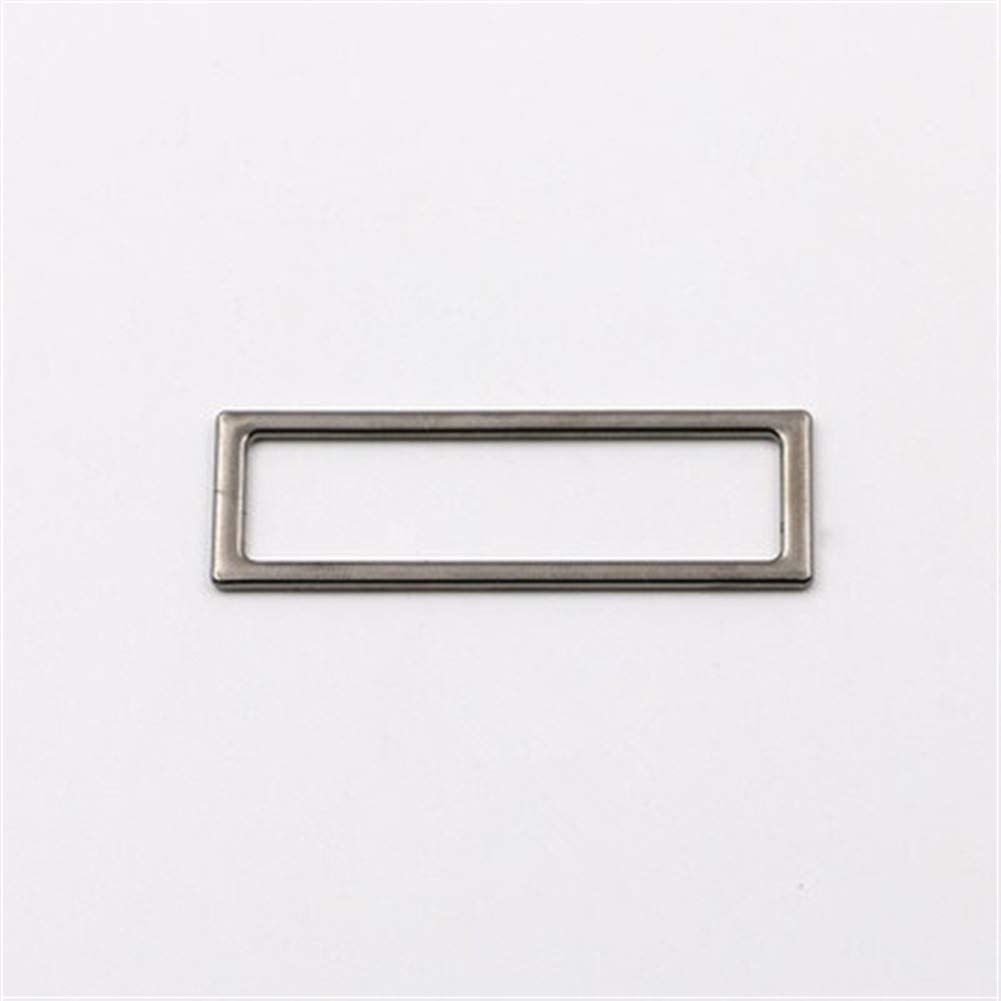 Roller design 6pcs Omaha Mall Square Ring Buckle Challenge the lowest price DIY Leather Key Bag W