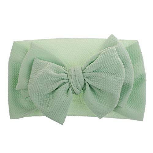 Lazzboy 1 Stück Baby Kleinkind Mädchen Bowknot Stirnband Stretch Haarband Headwear Süßes Kinder Kopfband Haarbänder Kopftuch(F)