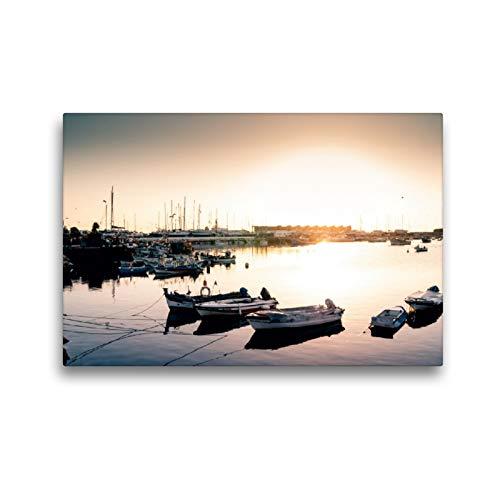 CALVENDO Premium Textil-Leinwand 45 x 30 cm Quer-Format Faro, Leinwanddruck von Simeon Trefoil