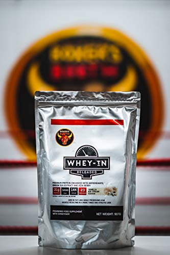Boxers Booth WHEY-in Reloaded Protein (Vanilla Ice-Cream) 907g - 80% Protein UK Made