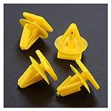 Zqybh. 50 ribattino Fissaggio Fissaggio in plastica for Clip di Fissaggio Rivestimento Porta Auto Foro 11 Millimetri