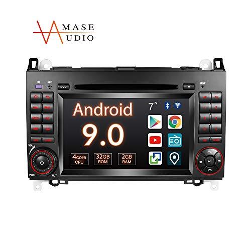 Amaseaudio Autoradio, 2 Din für Benz W169 W245 W906, 7