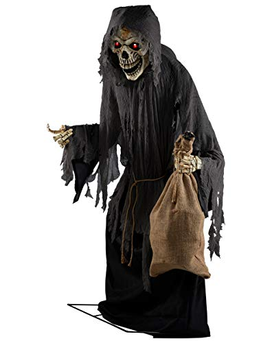 Spirit Halloween Collector Animatronic, 7 Feet
