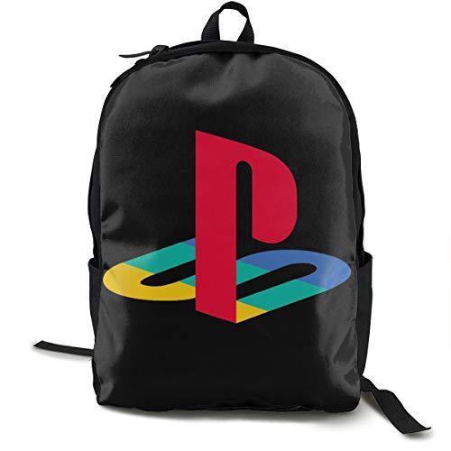 Sunscreen Ps4 Playstation Rucksack, Daypack Tagesrucksack Für Schule, Arbeit Und Uni, Sportrucksack Und Schultasche Mit Laptopfach Und Rückenpolster