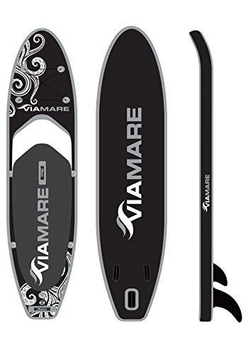 VIAMARE SUP Board Set 330 S Octopus White/Black
