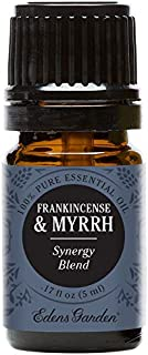 Edens Garden Frankincense & Myrrh Essential Oil Synergy Blend, 100% Pure Therapeutic Grade (Highest Quality Aromatherapy Oils- Skin Care & Stress), 5 ml