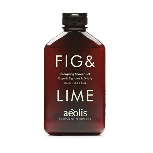 AEOLIS Skincare | FIG&LIME Energizing Shower Gel | Feige, Limette & Diptam | Belebt und erfrischt die Haut | 100% natürlich & nachhaltig | Ohne künstliche Zusätze (Fig&Lime, 250ml)