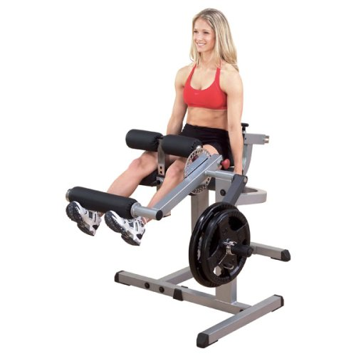 BODY-SOLID GCEC-340 2in1 Beintrainer Beinstrecker Beinbeuger sitzend Leg Extension and Curl