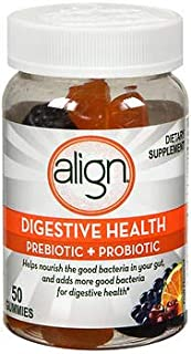 Align Digestive Health Prebiotic + Probiotic Gummies Fruit Flavored - 50 ct