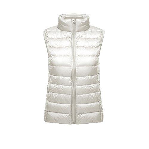 ON Damen Daunenweste Winterjacke leicht duenn Daunen Weste Aermellos Ladies' Down Vest