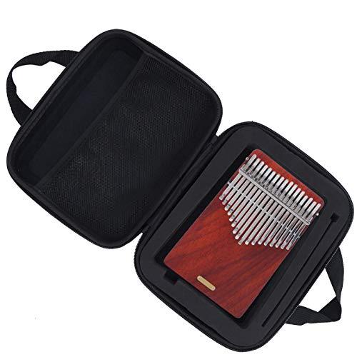Estuche Kalimba conveniente de usar para instrumentistas musicales para Kalimba(blue)