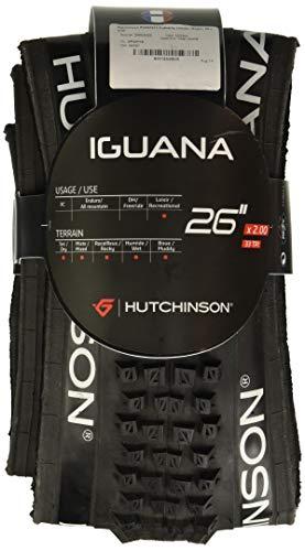 Hutchinson 697925 - Cubierta de ciclismo, color negro, 26 x 2.15 Toro