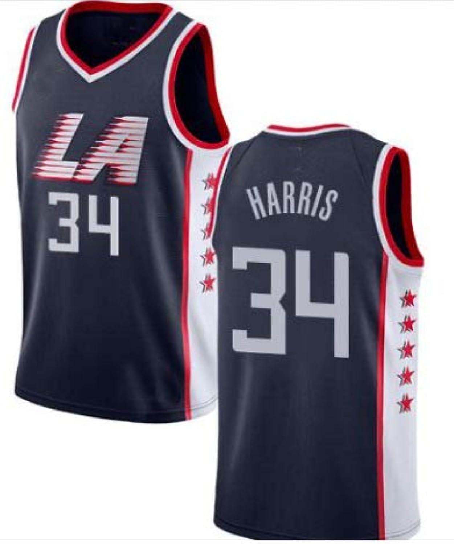 GOODEN Men Lou  34 Williams Harris Navy City Edition Jersey Basketball Short