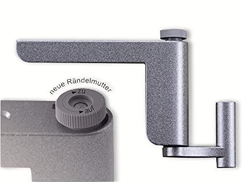 Clipclose TS Mini Türschließer Anlehner in Silber