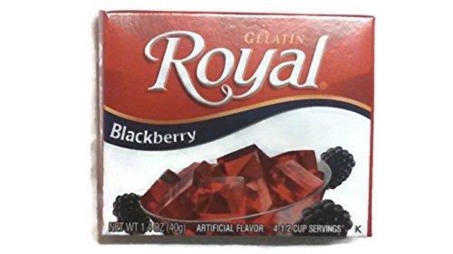 Royal Gelatin Blackberry 1.4-Ounce Pack 6 sale of Bargain sale