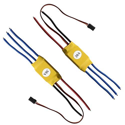 XXD 30 A RC bürstenloser Motor elektrischer Geschwindigkeitsregler ESC gelb für Flugzeug Quadcopter Drohne Modell Hubschrauber Teile