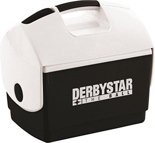 Derbystar Kühlbox, Frigorifero Unisex-Adulto, Nero/Bianco, 35 x 23 x 33 cm
