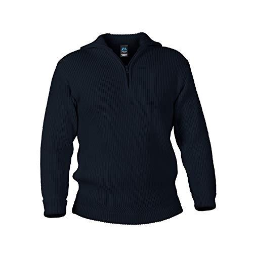 Blauer Peter - Troyer - Pullover - Schurwolle - 9 Farben, Farbe:Marine, Größe:60