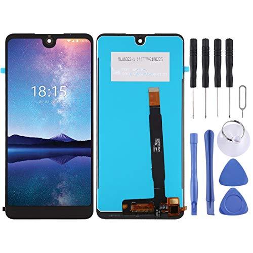 kangruwl Reemplazar revisión por Partes telefónicas Pantalla LCD y Montaje Completo de digitalizador para BQ BQ-6015L Universo Accesorio (Color : Black)