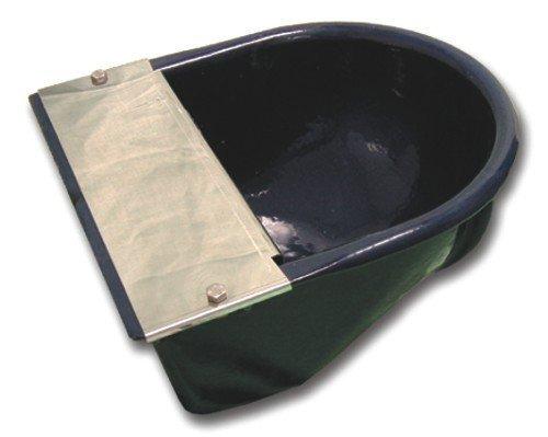Glooke Selected Abbeveratoio Per Equini Coperchio Acciaio Inox Giardinaggio Articoli Zootecnia
