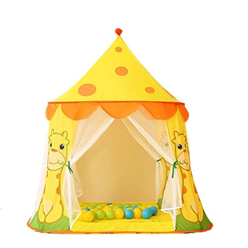 HIGHKAS Princess Castle Play Tent Large Kids Play House with Play Tents Toy for Indoor & Outdoor Games