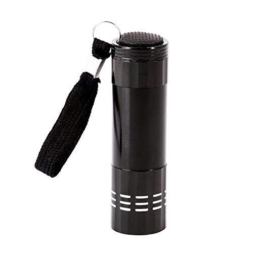 Lampe UV Nail 4 couleurs choisir Nail Dryer Mini lampe de poche LED lampe pour déplacer rapide Gel Nail Sèche,noir