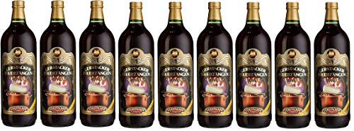 9 Flaschen Gerstacker Feuerzangenbowle (9x 1l) 9,5% vol.