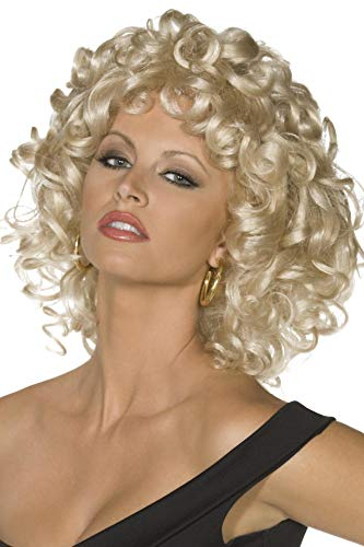 Smiffy's Licenciado oficialmente Perruque dernière scène Grease Sandy, Blond, Frisé