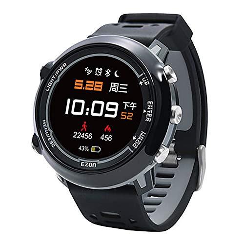 ADMJL Reloj Deportivo Inteligente para Hombre, Reloj Electrónico Multifunción, Movimiento Electrónico, Seguimiento...