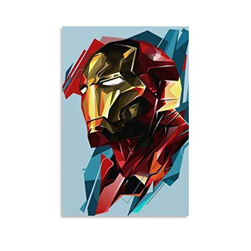 Iron Man Marvel - Póster decorativo para pared (30 x 45 cm)